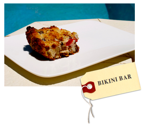 Please note, that while it is called a Bikini Bar, it's so not good for your ...